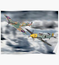 Corgi Aviation Ahrchive 1940 - 2000 Battle Of Britain Set ! Poster