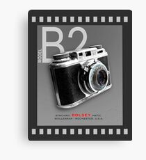 Bolsey 35mm Camera Ad Canvas Print