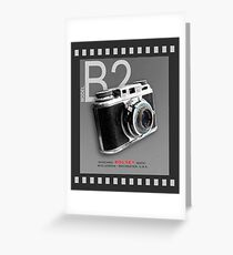 Bolsey 35mm Camera Ad Greeting Card