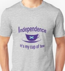 Scottish Independence My Cup of Tea Unisex T-Shirt