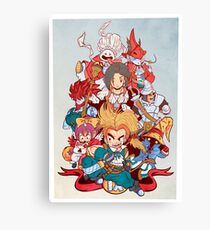 Fantasy Quest IX Canvas Print
