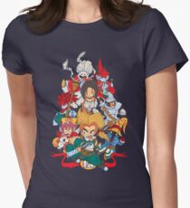 Fantasy Quest IX Womens Fitted T-Shirt