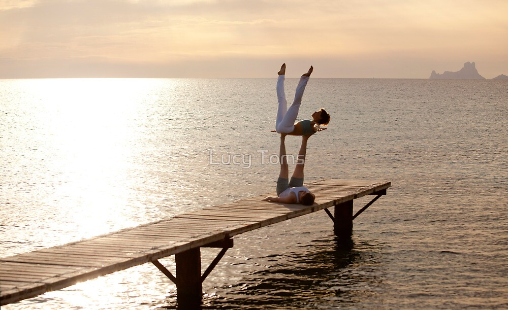 Formentera Yoga by Lucy Johnston