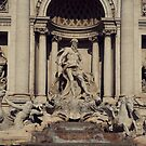 Trevi Fountain  by Louise Fahy