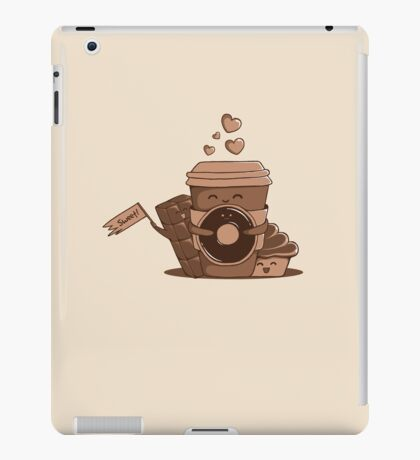 Caffeinated Love iPad Case/Skin