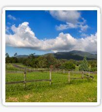 Rural View in Queensland Sticker