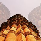 QUTB MINAR, INCREDIBLE INDIA by AarathiS