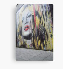Streetart Canvas Print
