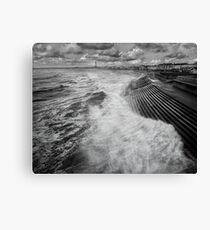 Blackpool promenade Canvas Print