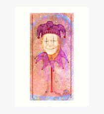 Jesters Puppet Art Print