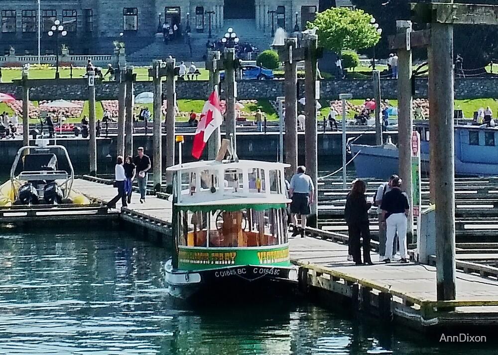 Victoria Water Taxi by AnnDixon