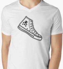 Chucks Mens V-Neck T-Shirt