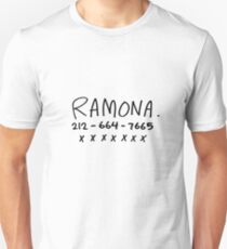 RAMONA FLOWERS Slim Fit T-Shirt