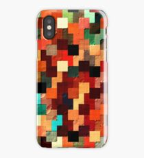 relief tetris structure iPhone Case/Skin