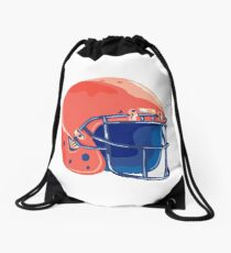 American Football Helmet WPA Drawstring Bag
