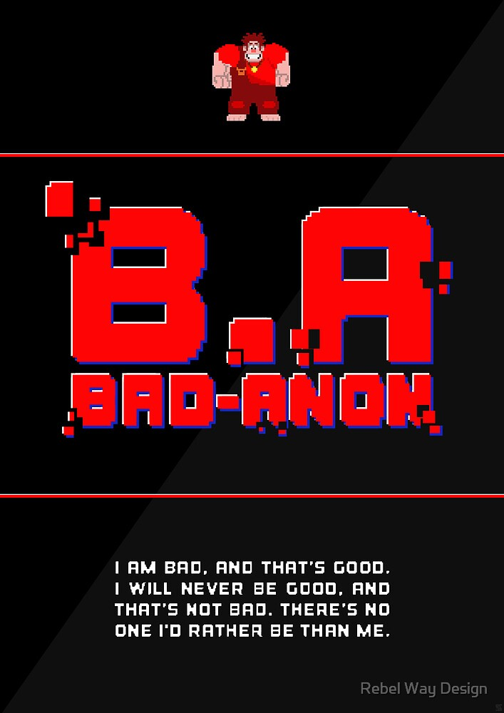 Bad-Anon  by Rebel Way Design