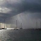 Thunderhead at Store Bay, Tobago by Wayne Gerard Trotman