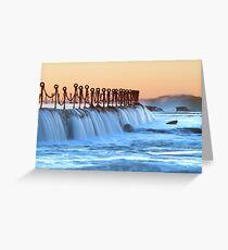 Newcastle baths Greeting Card