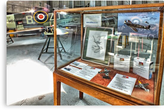 MH434 And The OFMC Model Case Hangar 2 Duxford ! by Colin  Williams Photography