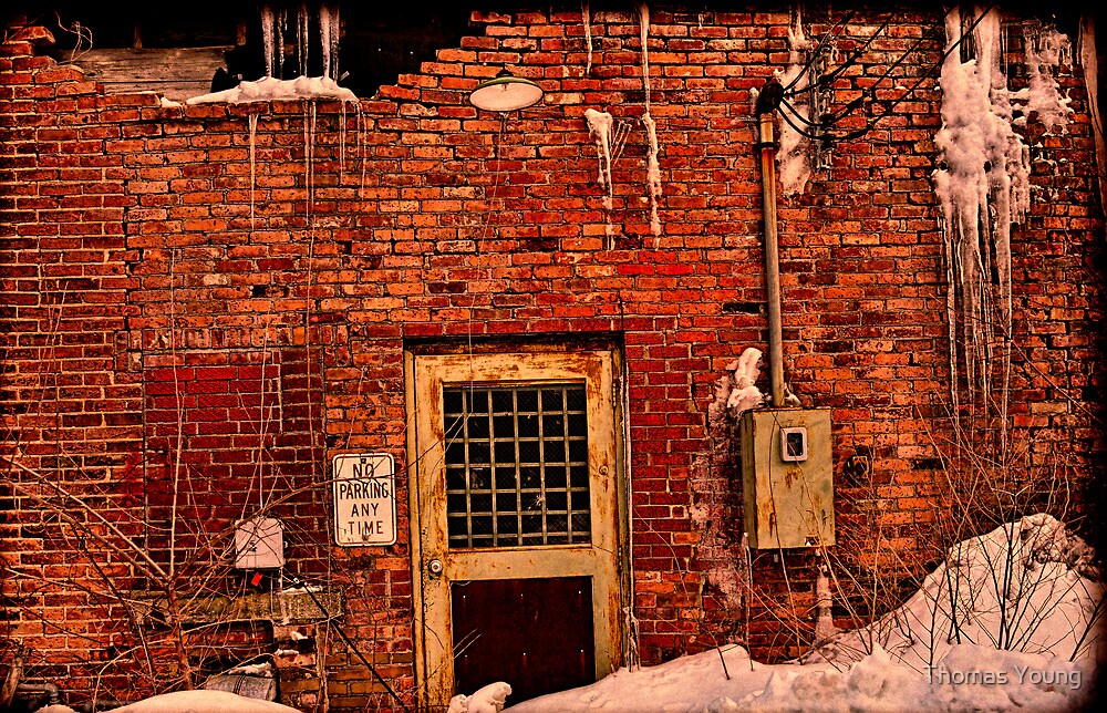 In The Alley In The Winter by Thomas Young