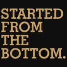 Started From The Bottom by teetties
