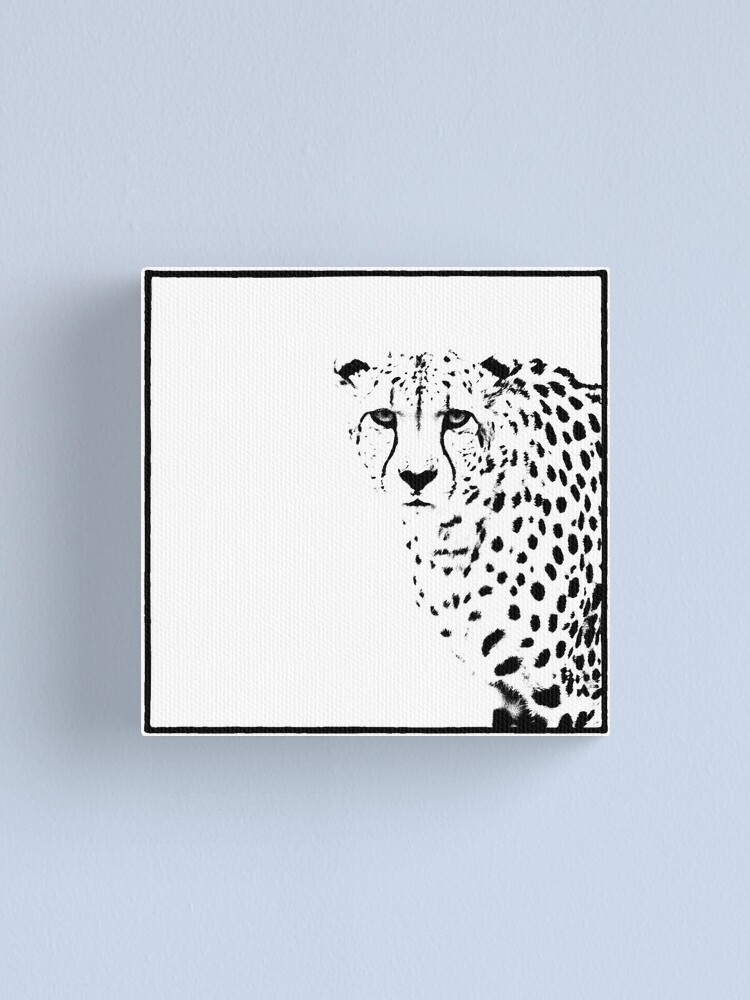 Alternate view of Cheetah Canvas Print