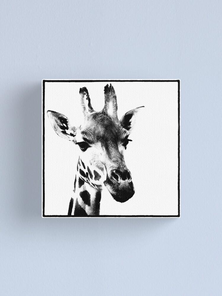 Alternate view of Gentle Giraffe Canvas Print
