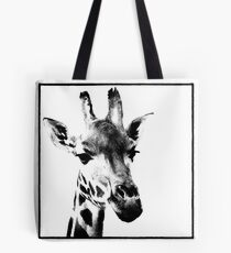 Gentle Giraffe Tote Bag