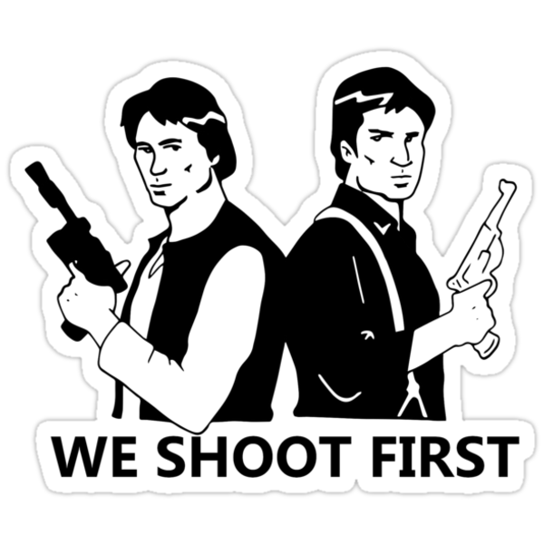 We Shoot First by Crooshl