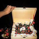 Treasure chest Pixie I Wedding favors & Handfasting by INma Gallego Gómez - Pastrana