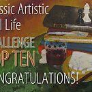 Classic Artistic Still Life Group: Top Ten Banner by Shani Sohn