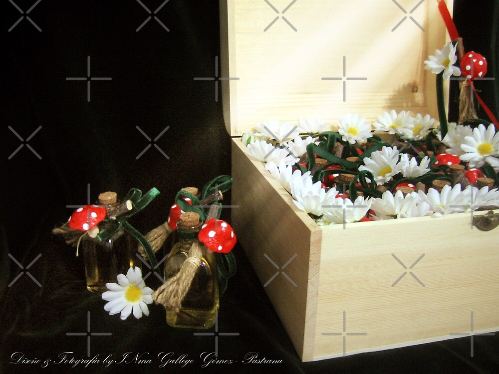 Treasure chest Pixie II Wedding favors & Handfasting by INma Gallego Gómez - Pastrana