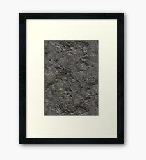 Rock Framed Print