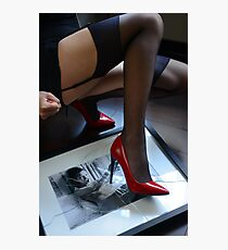 Red Shoe Diary - 2 Photographic Print