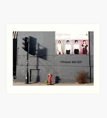 Montreal - The shadow of the light. Art Print