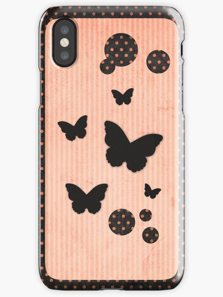 Flutter Me By iPhone / iPod Case by David & Kristine Masterson