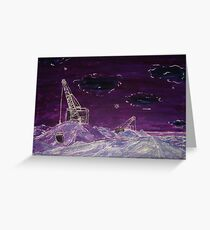 The Edge of the World Greeting Card