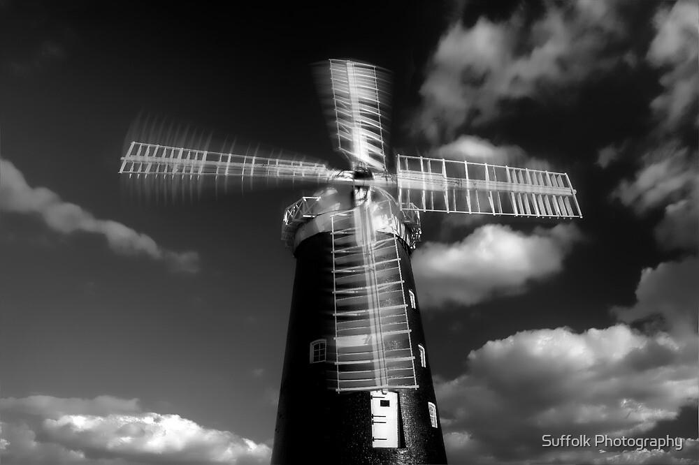 Pakenham Windmill,Suffolk,England by Suffolk Photography