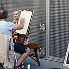 Artist at work by JamesRoberts