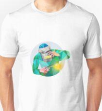 Welder Welding Mask Circle Low Polygon Unisex T-Shirt