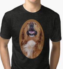 ✌☮I'M LAUGHTING LIKE NOBODYS LOOKIN DOG TEE SHIRT ✌☮  Tri-blend T-Shirt