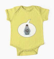 """Ubuntu"" Baby penguin tattoo One Piece - Short Sleeve"