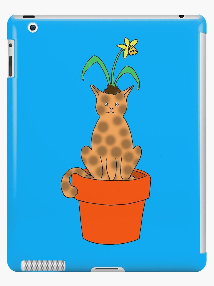Daffy Cat by Hannah Baker - Jamface