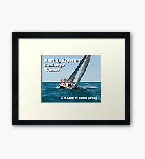 Challenge Banner Framed Print