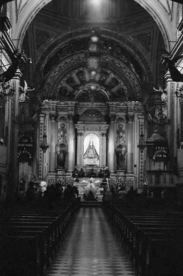 Church Interior by RenX