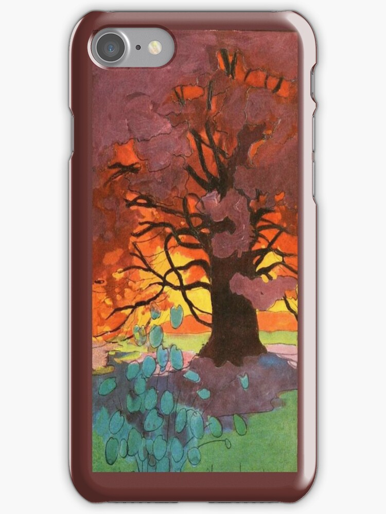 Vintage Tree of Life iPhone iPod Case by wlartdesigns