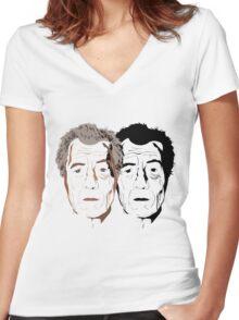 McKellen Women's Fitted V-Neck T-Shirt