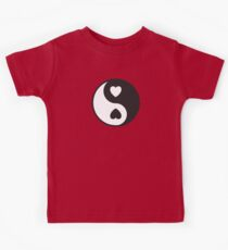 Ying Yang Hearts Kids Clothes