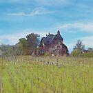 Little Grand Cottage (Watercolor) by Jennifer Lam