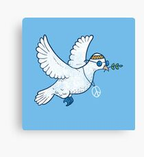 The Hippie Dove Canvas Print